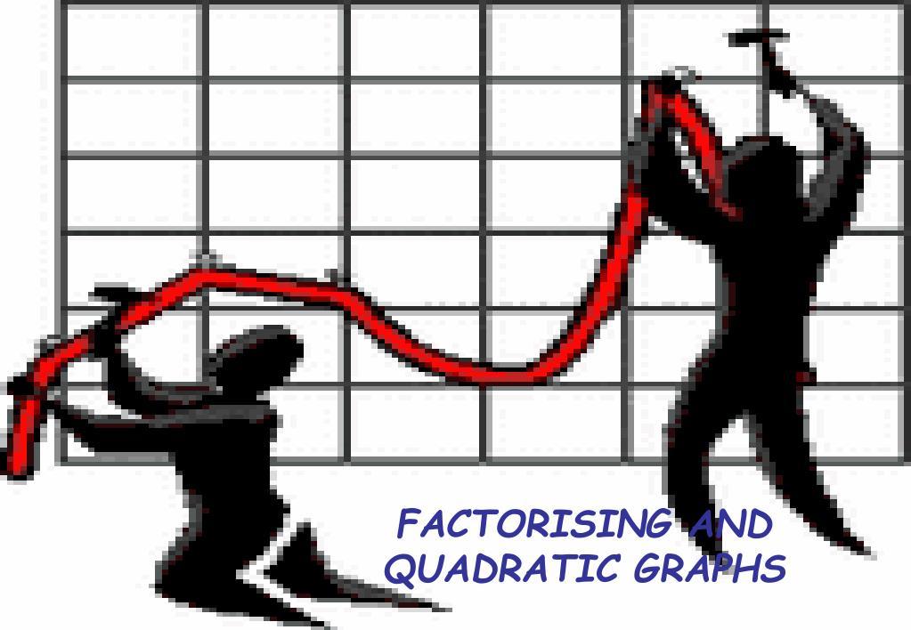factorising and quadratic graphs l.