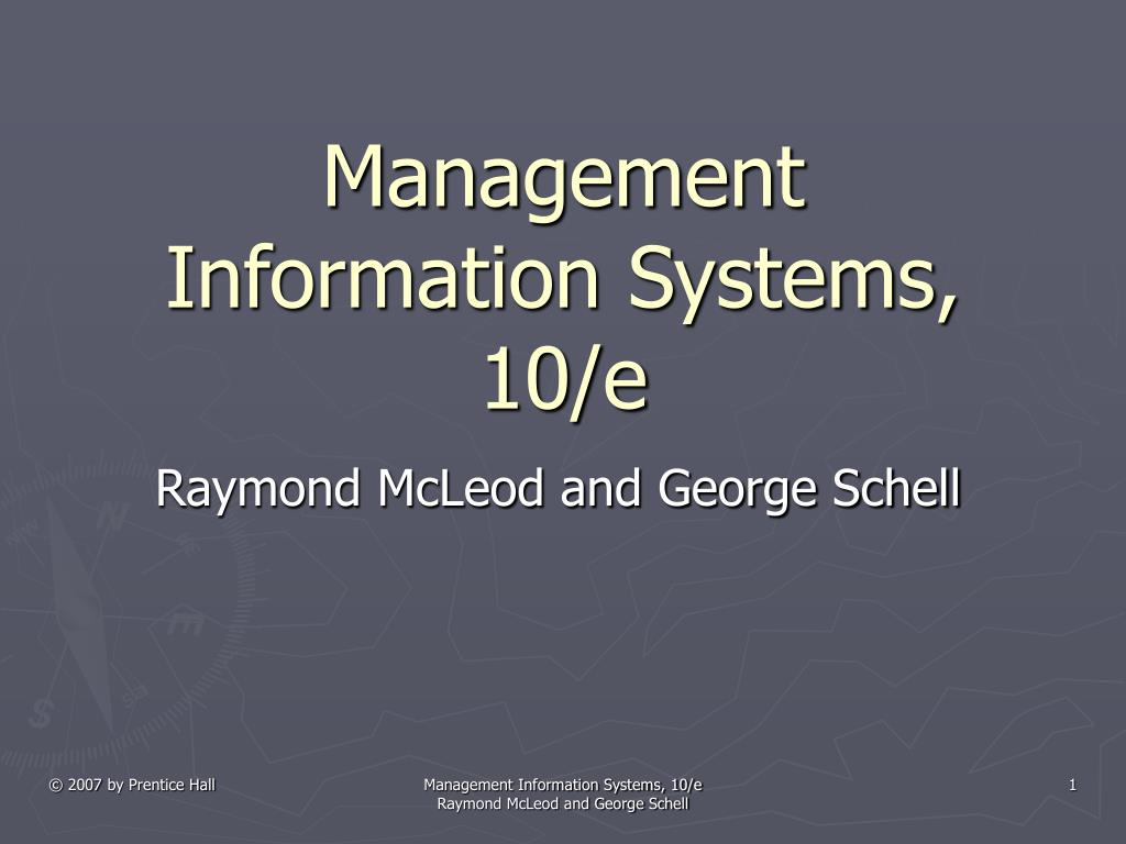 management information systems 10 e l.
