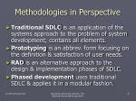 methodologies in perspective