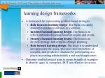 learning design frameworks21