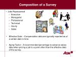 composition of a survey7