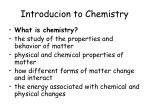 introducion to chemistry