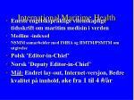 international maritime health
