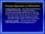 arousal approach to motivation9