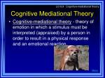 cognitive mediational theory