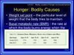hunger bodily causes17