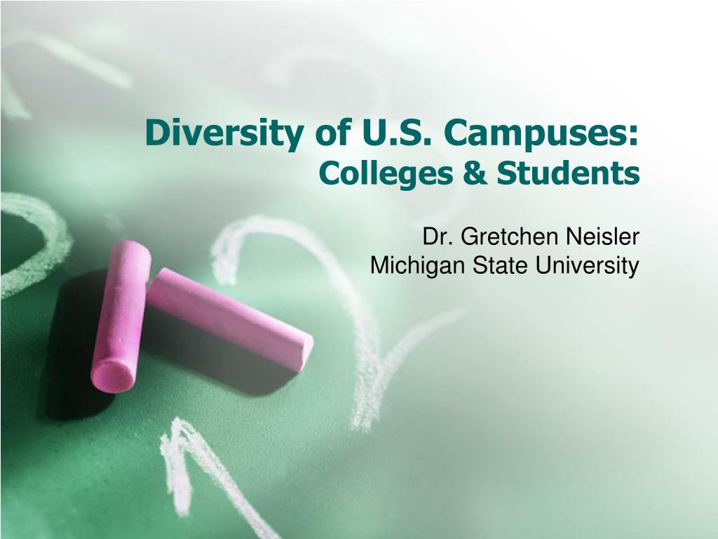 diversity of u s campuses colleges students l.