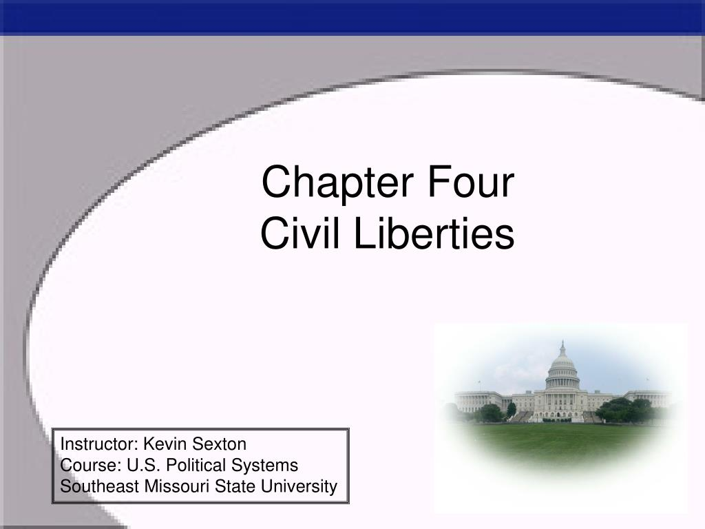 chapter four civil liberties l.