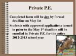 private p e52