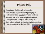 private p e54