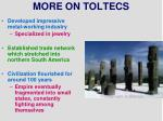 more on toltecs