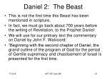 daniel 2 the beast