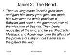 daniel 2 the beast101