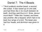 daniel 7 the 4 beasts116