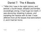 daniel 7 the 4 beasts117