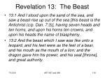 revelation 13 the beast119