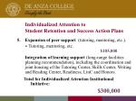 individualized attention to student retention and success action plans13