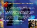 gis for data dissemination and utilization