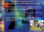 satellite imagery and gps case republic of the marshall islands