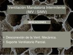 ventilaci n mandatoria intermitente imv simv23