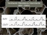 ventilaci n mandatoria intermitente imv simv24