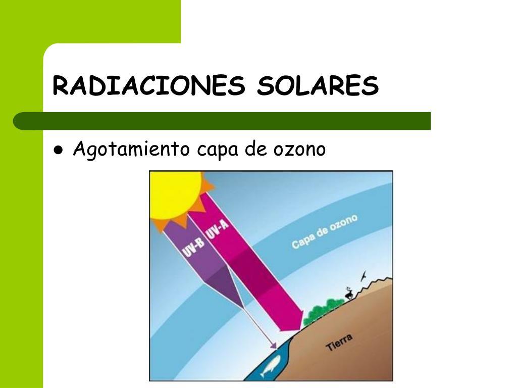RADIACIONES SOLARES