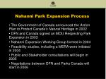 nahanni park expansion process