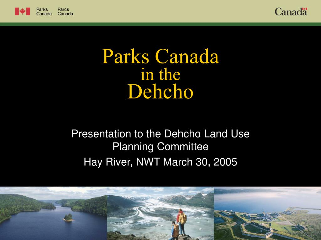 parks canada in the dehcho l.