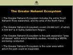 the greater nahanni ecosystem