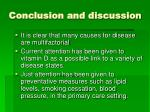 conclusion and discussion19