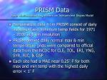 prism data parameter elevation regressions on independent slopes model4