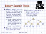 binary search trees5