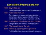 laws affect pharma behavior4