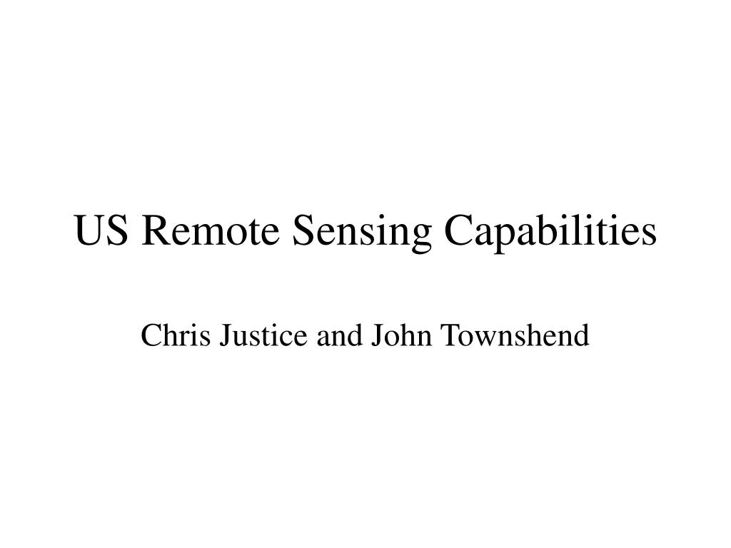 us remote sensing capabilities l.