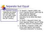 separate but equal8