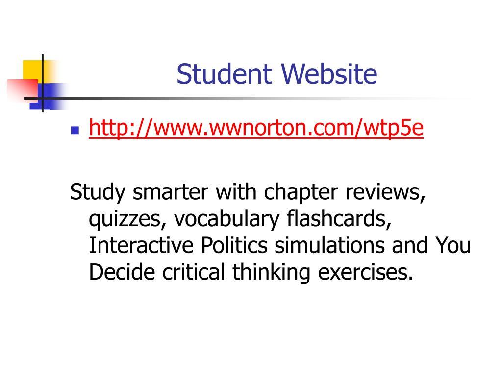 Student Website