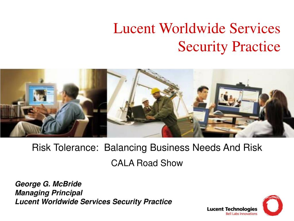 lucent worldwide services security practice l.