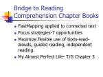 bridge to reading comprehension chapter books
