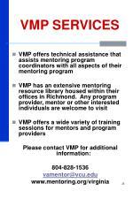 vmp services