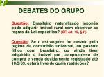 debates do grupo8