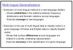 multi lingual generalisations24