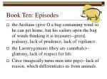 book ten episodes