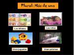 plural m s de uno