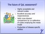 the future of qol assessment