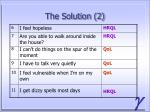 the solution 2