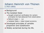 johann heinrich von th nen 1783 1850