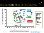 intermediate risk pcrsg criteria15