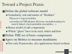 toward a project praxis