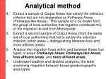 analytical method19
