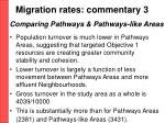 migration rates commentary 3